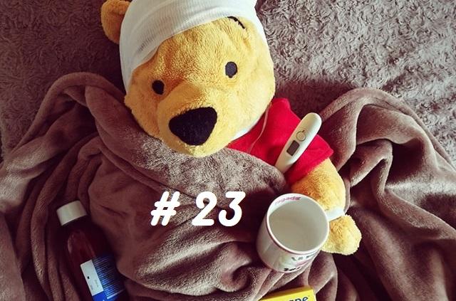 Malade … les joies de l'hiver#23